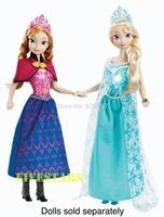 Genuine Original Brand Frozen Princess Musical Magic Lights Elsa Dolls for Girls Christmas New Year Birthday Gifts Toys for kids