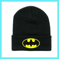 Batman Wool cap 2014 New Beanie Men/Women cool hiphop Knit Hat Sport Winter Cap warm Knitted Winter Hats A7165