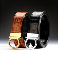 Free Shipping + Best Sell + Classic Brand designer natural leather men's Belt + Man Western Belt + Original Box Buckle Belt #D11