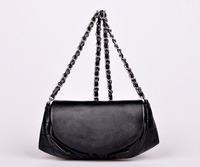 2014 Famous Brand New Fashion Women Handbags Genuine Leather Lambskin Half Moon Messenger Bags Lady's Summer Purse 69109