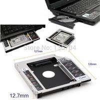 12.7mm SATA 2nd HDD HD Hard Driver Caddy For Universal CD/DVD-ROM Optical Bay