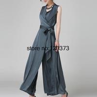2014 summer new blossoming snow lace big swing dress fairy dress  Silk-Satin gray nobleculottes women dress S M L XL XXL XXXL