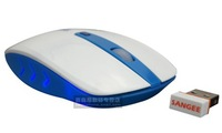 Wireless mouse Multicolor mouse ultra-thin mouse game 1600 pdi variable speed