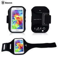 Baseus Reflective Sports Armband Case Jogging Running Bag Fit Universal Cell Phones Under 5.1 inch 160*77*10 mm
