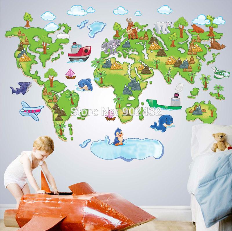 World Map Cartoon Globe New 2014 Cartoon World Map