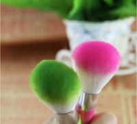 Makeup brush cheek is red brush dust nail brush pink orange purple red Silhouette brush free shipping HZS035