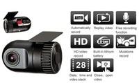 D168 Mini car DVR Camera HD 1080P 30FPS Car DVR Recorder Camera D168 motion detection 140 degree wide angle car dvr Novatek