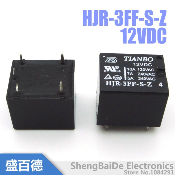 лот HJR-3FF-S-Z 12VDC реле