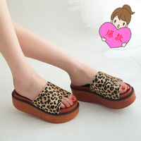 summer 2014 popular new heavy-bottomed muffin with sets of toe shoes women sandals chx1-11