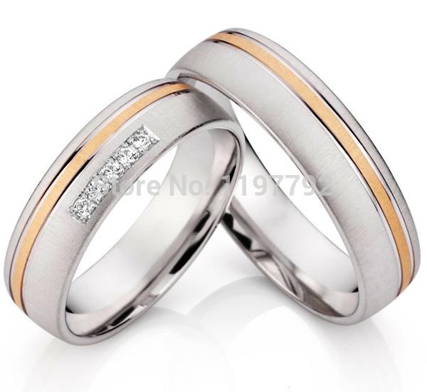 get cheap matching titanium wedding bands