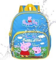 WHOLESALE Peppa pig School bag kids backpack,children Cartoon bag boys girls mochila peppa infantil kindergarten backpack