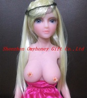free shipping - luxury silicon sex dolls with metal skeleton, solid love dolls with elf ears, real silicon love sex dolls