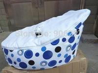 Free shipping baby beanbag seat, baby sleeping bean bag sofa baby seat