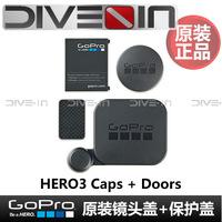 """ Original authentic "" GoPro Hero3 original side door cover battery cover lens cap"