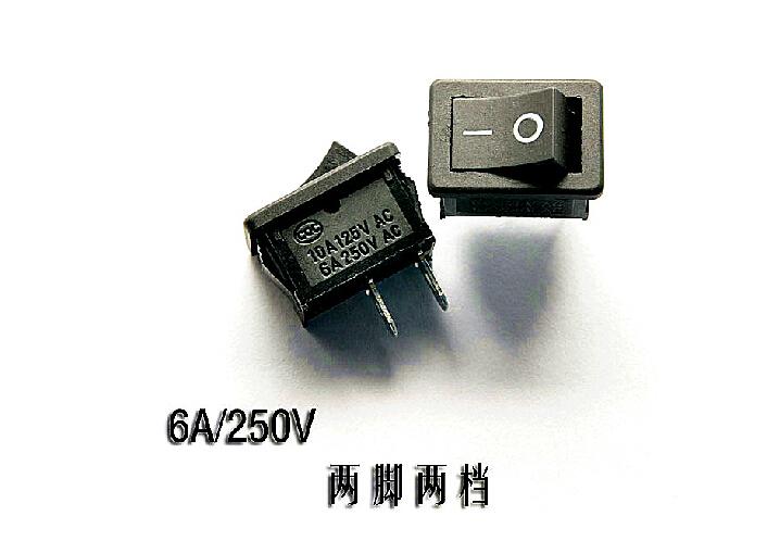 Кулисный переключатель CHINA 2 2 kcd1/101 6A 250V KCD1-101