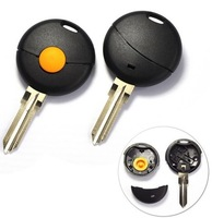 3 PCS/LOT   Uncut Blade Blank Key Remote Shell Case For Mercedes Benz Smart Fortwo 1BT