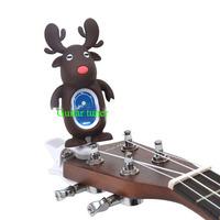Wholesale OEM guitar tuner, cartoon style /Portable Guitar Tuner  Clip On (Chromatic, Guitar, Bass, Uke, Violin),Free shipping