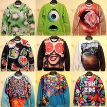 2014 New harajuku 3D print mens sweatshirt hoodies sportswear moleton men's sweaters AND pullovers winter women hoody tracksuits(China (Mainland))