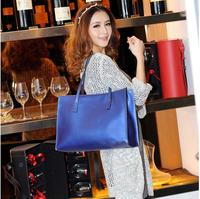 2014 New Fashionable Big Womens leather handbags high-capacity Single shoulder bag for ladies 4 colors Dropship JF4990