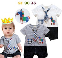 Hot! 3pcs/lot Cartoon 2 color  3 code leotard (tie cartoon short  sleeved clothes horse) free shipping 140705