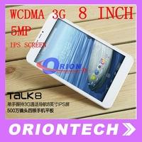 Cube Talk 8 U27GT 8 inch WCDMA 3G Tablet PC MTK8382 Quad Core 1GB+8GB 5.0MP Dual Camera bluetooth GPS Talk8 Tablets