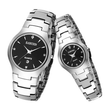 Limited Buying Card Liston Genuine Waterproof Fashion Watch Vintage Watch Diamond Couple Of Tables Table(China (Mainland))