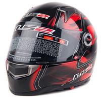 Free shipping LS2 helmet LS2 FF396 fiberglass full-face helmet motorcycle helmet full helmet-end dual-lens
