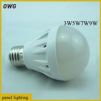 10PCS/LOT LED Bulb 3W5W7W9W  Bulb Lamp,SMD2835 LED Spotlight,Bright  E27 led Lamps,Energy Saving Led Light Lamps Bulbs