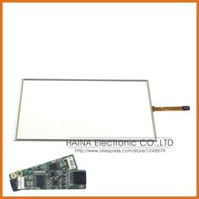 15.4 polegada 4 fio superposition de panneau de l'écran résistif tactile USB kit, Moniteur écran tactile 15.4 avec contrôleur USB(China (Mainland))