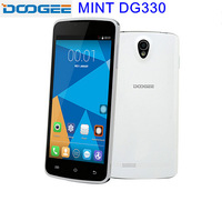 Newest In stock!Original DOOGEE MINT DG330 5.0inch MTK6582 Quad Core Smart Phone RAM 1GB ROM 4GB WCDMA 3G WiFi Free shipping