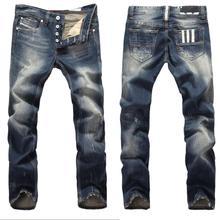 2014 Men's Brand Jeans, new dark color ripped men jeans fashion designer famous brand denim pants,Plus Large Size(China (Mainland))