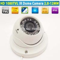 2014 Newest!!! Vandalproof Video Security Metal IR Dome CCTV Camera Waterproof with Varifocal Zoom 2.8-12MM Lens + OSD MENU