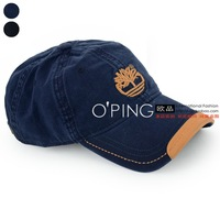 Outdoor leisure brand PU leather stitching embroidery cap baseball cap can be adjusted