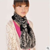 100% pure rabbit fur, the new 2014 winter fashion furs scarves, hand-knit, luxurious fabrics, fur collar, free shipping,