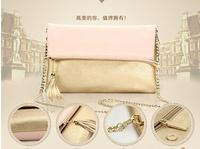 Free Shipping Women's Chain Parcel Bag female Messenger Bags Handbag Christmas Gift NO. NL24