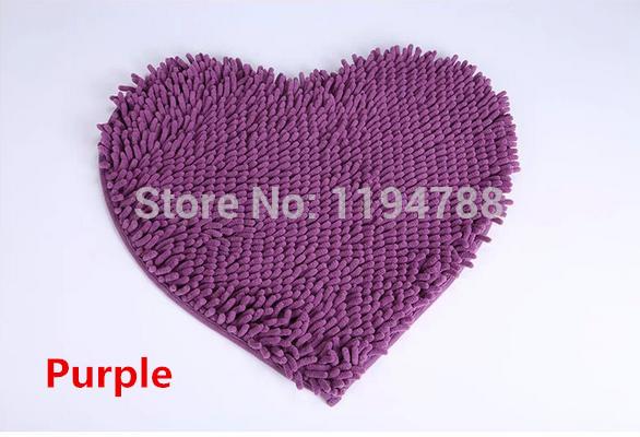 coração lindo- em forma mat/capacho criptografia espessamento escorregadio lavar. tapetes da cozinha. bem-vindo escolher.(China (Mainland))