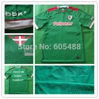 2014/15 Thailand quality Athletic Bilbao green La Liga Men soccer jerseys Football Futbol Kit Just shirt
