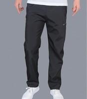 New 2014 Casual Famous Brand Sport Men Pants Outdoors Sweatpants L-XXXLLoose Trousers Black