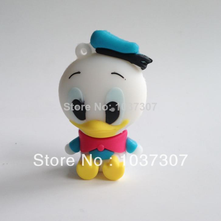 U Disk Baby ducks USB flash drive 128GB 64GB 32GB 16GB pen drive storage USB memory stick drives bulk sticks card gift(China (Mainland))