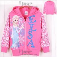 Frozen 100% Cotton Long Sleeve Children Hoodies for Girls Boys Wear Hoody New brand Cartoon Hoodies & Sweatshirts Clothing Kids