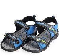 2014 summer boys full grain genuine cow leather sandals child shoes sandals kids sandals boys soft  footwear children shoes X174