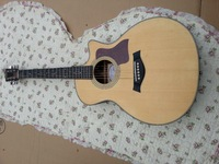 free shipping wholesale 314ce Custom 41'' handmade Ebony fingerboard classical acoustic guitar matt finish guitar made in china