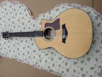 free shipping wholesale Custom 41'' handmade Ebony fingerboard classical acoustic guitar matt finish guitar made in china