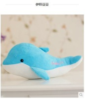 The undersea world dolphin plush toy doll fish doll pillow female birthday gift