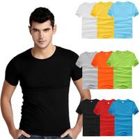 Men T-Shirts 2014 Summer Men's Brand Short Sleeve T Shirt O Neck Tees Shirt Plus Size Men's Clothing