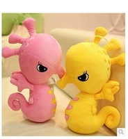 Hippocampal doll plush toy doll hippocampus hippocampus underwater world colorful.