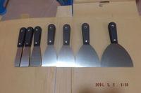 "SunRed high quality wholesale carbon steel plastic 7pcs 1"",1.5"",2"",2.5""3"",4"",5"" SCRAPER/PUTTY KNIFE SET tool NO.SR-01 freeship"