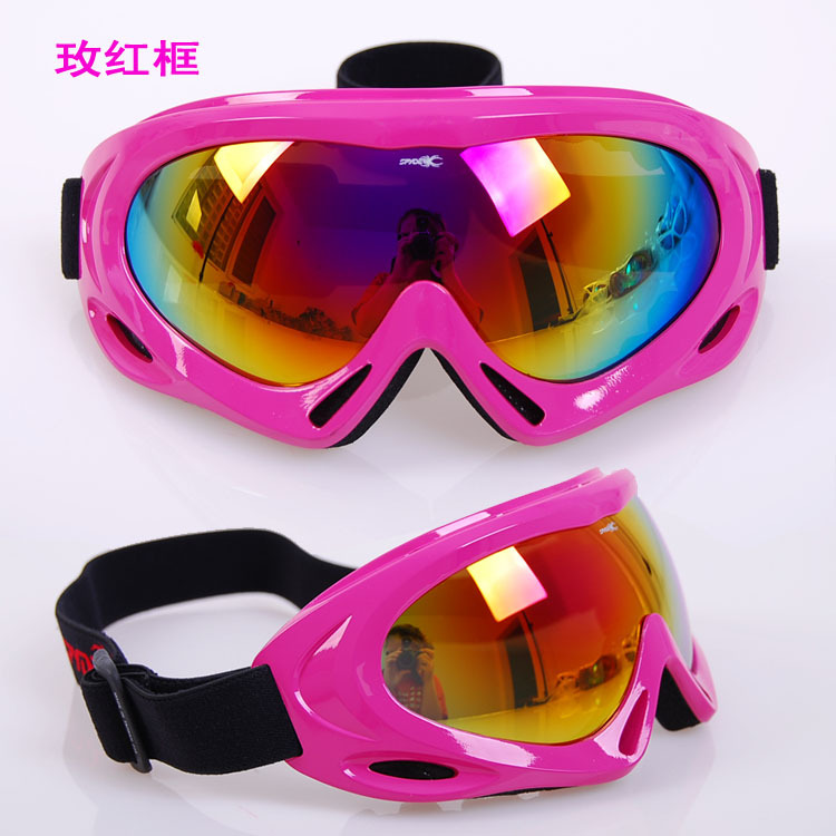 wholesale free shipping bargain price Sales Promotion men's and women's Ski goggles Anti sand goggles(China (Mainland))