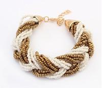 European and American style bohemia summer women bracelets shamballa bracelet