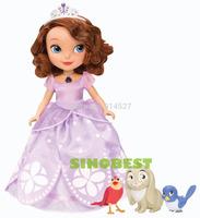 Free Shipping Genuine Original Princess Sofia The First Talking Sofia Dolls The Brand Fashion New Year Birthday Gifts Baby Toys